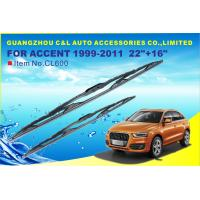 U Hook Adapters Frame Windshield Blades For Hyundai Accent 1999 - 2011 Manufactures