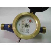 Impeller Type DN25 Multi Jet Water Meters / Single Jet Water Meter With Pulse Output Manufactures