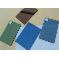 Tinted Bronze Float Glass , Black Tinted Glass For Show Window Decoration Manufactures