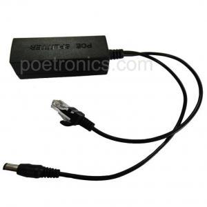 POE-SL801 15W 10M/100M IEEE802.3af Compliant IP Camera Applied POE Splitter Manufactures