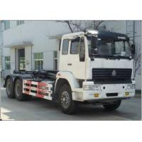 Carriage Removable Garbage Collection Truck SINOTRUK Golden Prince 20-25CBM 6X4 Manufactures
