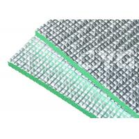 Aluminum Foil Thermal Reflective Foam Board Polyethylene 8mm Light Weight Manufactures