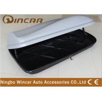 Universal Rooftop Cargo Box For Luggage , Car Roof Storage Box Manufactures