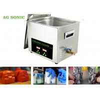 Stainless Steel 304 Digital Ultrasonic Cleaner Dx Dx 6 DX7 Print Head 10L Tank Manufactures