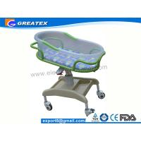 Anti-rust Stable ABS Plastic Hospital Baby Cots Bed / Cart For Children Welfare Manufactures