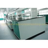 Black Glare surface chemistry lab bench with resist chemical reagents Manufactures