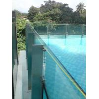 Clear Laminated Pool Fencing Glass PVB Single Glass Thick 19 mm Manufactures