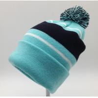 Nice Womens Knit Beanie Hats 100% Acrylic Material Fully Customizable Manufactures