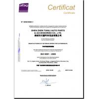 Tian Li Auto Accessories CO.,LTD Certifications