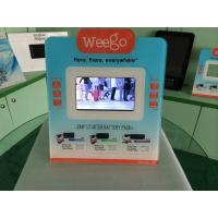 7 Inch Calender / Clock UV Printed POS Advertising Display With Video Auto Play Manufactures