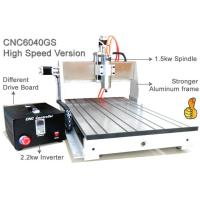 China Assembly USB 3 Axis Advanced CNC Router 6040 / 1.5KW Spindle 2.2KW Invert CNC Engraver Machine on sale