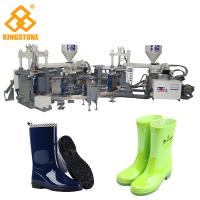 Automatic Rain Shoes Making Machine Production Line , Rotary Injection Molding Machine Manufactures