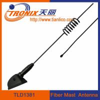 1 section spring form fiber mast car antenna/ passive car antenna TLD1381 Manufactures