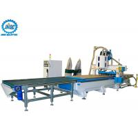 China Loading Unloading CNC Machine Panel Furniture Production Line With Boring Head / Drilling on sale