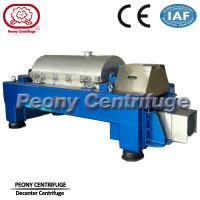 Cheap Continuous Titanium Decanter Centrifuges / Sludge Dewatering Centrifuge for sale
