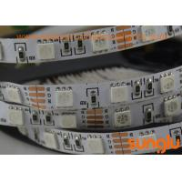 China Full Color RGB 5050 LED Strip Lights , LED Flexible Strip Lights For Interior House on sale