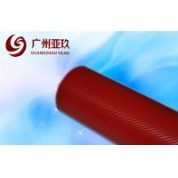 China Red Auto Vinyl Wrap For Side View Mirrors With Air Free Bubbles on sale