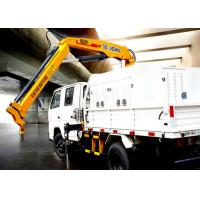 Cheap Durable Lifting Knuckle Boom Truck Mounted Crane With 7.5m Max Lifting Height for sale