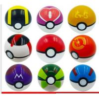 7cm Pokemon Pikachu Pokeball Cosplay Pop-up Master Great Ultra GS Poke Ball Toys