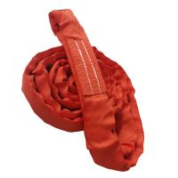 Heavy Duty Polyester Endless Round Sling , EN 1492 2 Round Sling CE Approved Manufactures