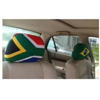 Advertising Rear View Mirror Cover / Promo Items Decorative Headrest Covers Manufactures