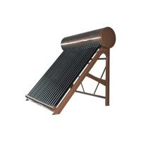 Evacuated tube solar water heaters Manufactures