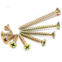 Double Csk Head Pozi Chipboard Flooring Screws For Squeaky Floorboards DIN7505