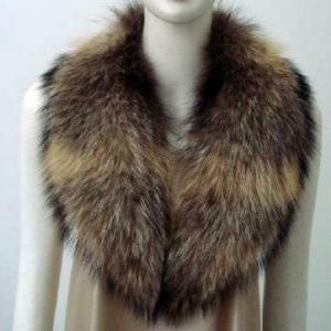Big Raccoon Fur Collars Manufactures
