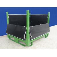 Durable Collapsible Wire Container Large Load Capacity With PP Sheets Manufactures