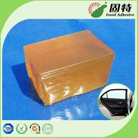 Cheap Yellow Colored Block Industrial Hot Melt Glue For Automotive Translucent for sale