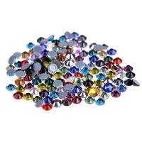 Ss4 / Ss6 MC Glass Rhinestones , Flat Back Glass Crystals Eco - Friendly