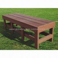 Bench, Wood/Plastic Composit, High Density, High Degree Of UV Stability Manufactures