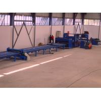 Cheap Standard cut to length line , hot rolled mild steel light pole machine for 6m 8m 14m for sale