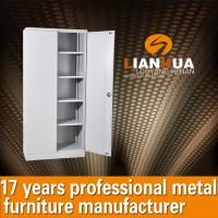 Swing Door Metal Filing Cabinet With Shelves LH-057 Manufactures