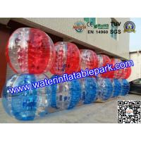 Water Walking Exercise Inflatable Bumper Ball , Inflatable Water Bumper Soccer Ball Manufactures