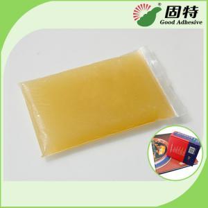 Buy cheap Light Amber Block Bookbinding Hot Melt Adhesive Glue , Animal Hide Glue from wholesalers