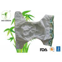 Reusable Washable Bamboo Cloth Diapers With Anti - Bacterial Charcoal Bamboo Manufactures