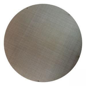 "Black Mild Steel 12 Mesh 0.5 Plain Steel Wire Mesh 48"" Wide Manufactures"