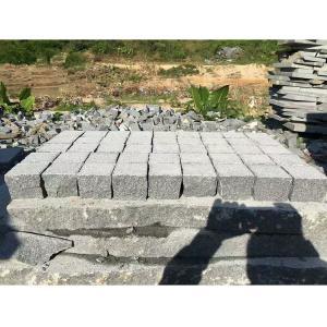 Dark Grey Granite Paving Stones Exterior Decoration Eco - Friendly