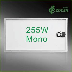 Buy cheap 25 Years Wanrranty , Shading Tolerance , 255W Monocrystalline Solar Panels from wholesalers