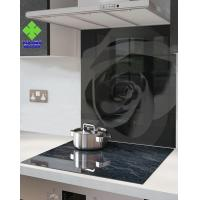 Stove High Temperature Ceramic Glass Panels , Ceramic Glass Sheet Solid Structure Manufactures