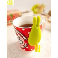 Eco-Friendly Colored Custom Silicone Products Silicone Tea Filter Bag Holder Manufactures