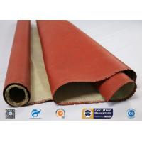 260 ℃ Heat Resistant Insulation Silicone Coated High Silica Fabric Manufactures