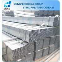 Galvanized GP steel hollow section SUPPLIERS made in China market Manufactures