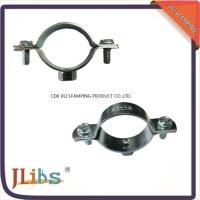 18mm-200mm Size Galvanized Pipe Clamps Plumbing Clamps Brackets Standoff Pipe Clamps Manufactures