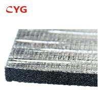 Waterproof Low Density Xlpe HVAC Insulation Foam Fire Retardant 100% Closed Cell Manufactures