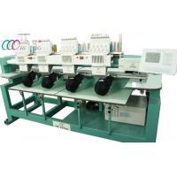 1000 SPM 4 Head Computer Tubular Embroidery Machine For Baseball Caps Manufactures