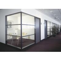 Thermal stability Glass Partition Walls Maximum Size 2000 mm * 6000 mm Manufactures