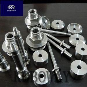 Turning Process Aluminum Machined Parts / CNC Lathe Parts For Automotive Manufactures