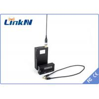 Digital COFDM Video Wireless Transmitter , Hdmi Wireless Audio Transmitter Government Military Police Manufactures